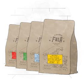 Czteropak espresso (4x250g)