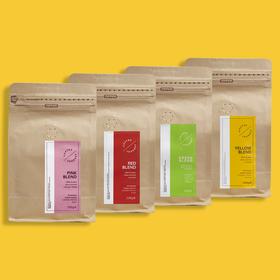 Kawa ziarnista Coffee Journey – Zestaw 100% arabika
